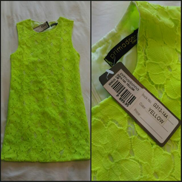 REPRICED! Primadonna Lace Dress (Fits S-M frames) Brand New With Tag