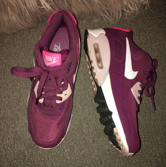 Purple/pink Nike Air Max