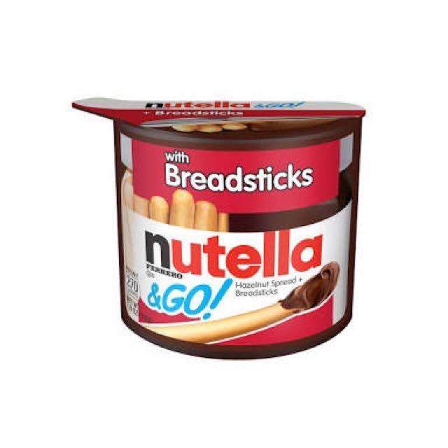 RARE Nutella With Fererro And Breadsticks 😍