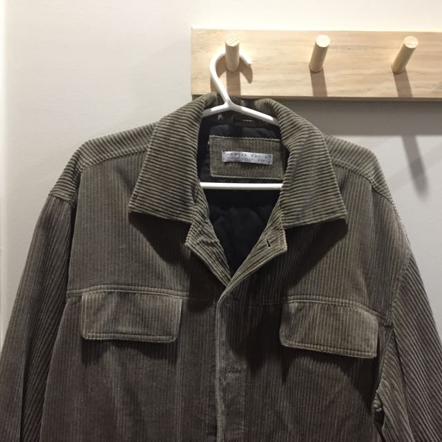 Roger David Corduroy Khaki Jacket