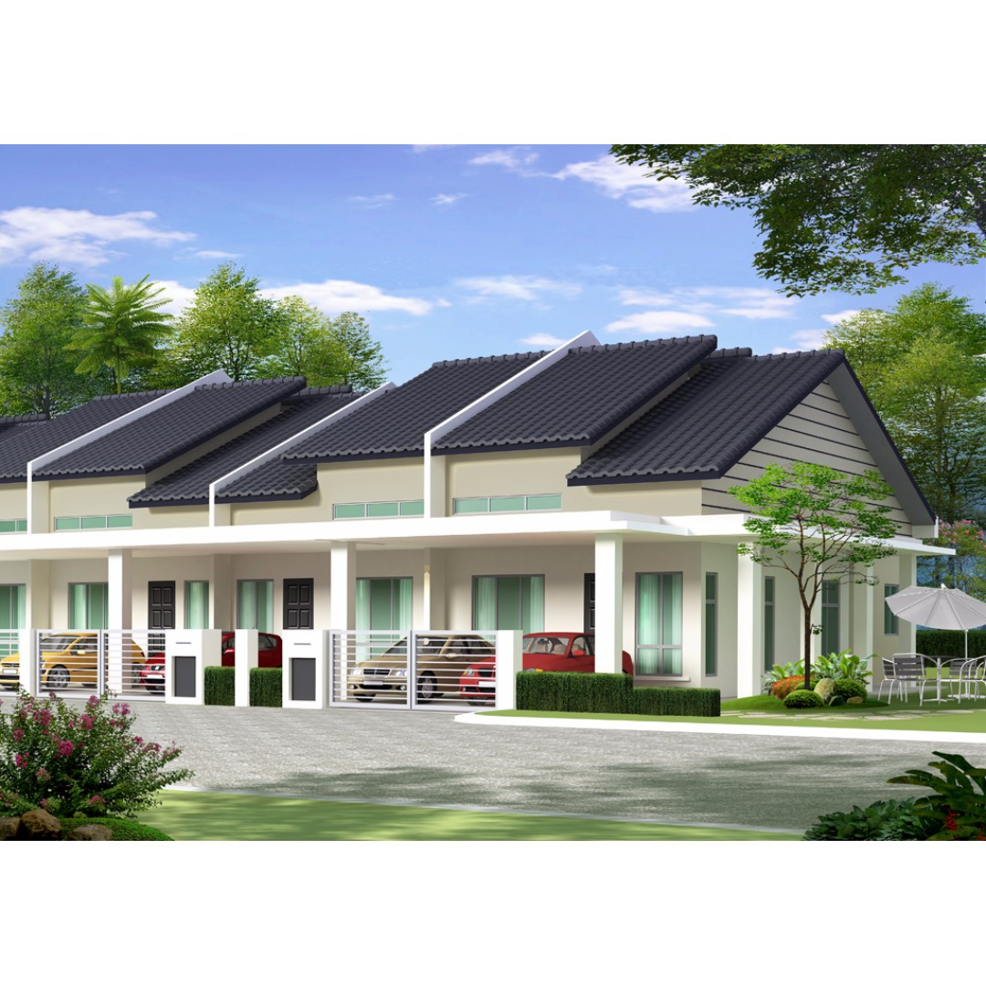 Rumah Teres Setingkat | Desainrumahid.com