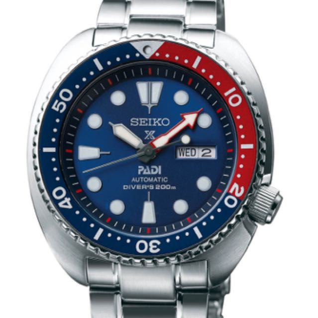 Seiko Padi Turtle Pepsi Men S Fashion Watches On Carousell