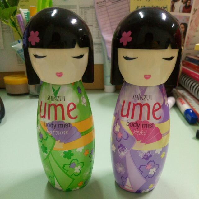 Shinzui UME Body Mist