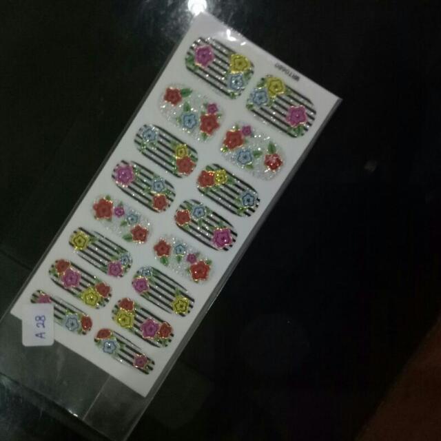 Stiker Kuku / Nail Sticker