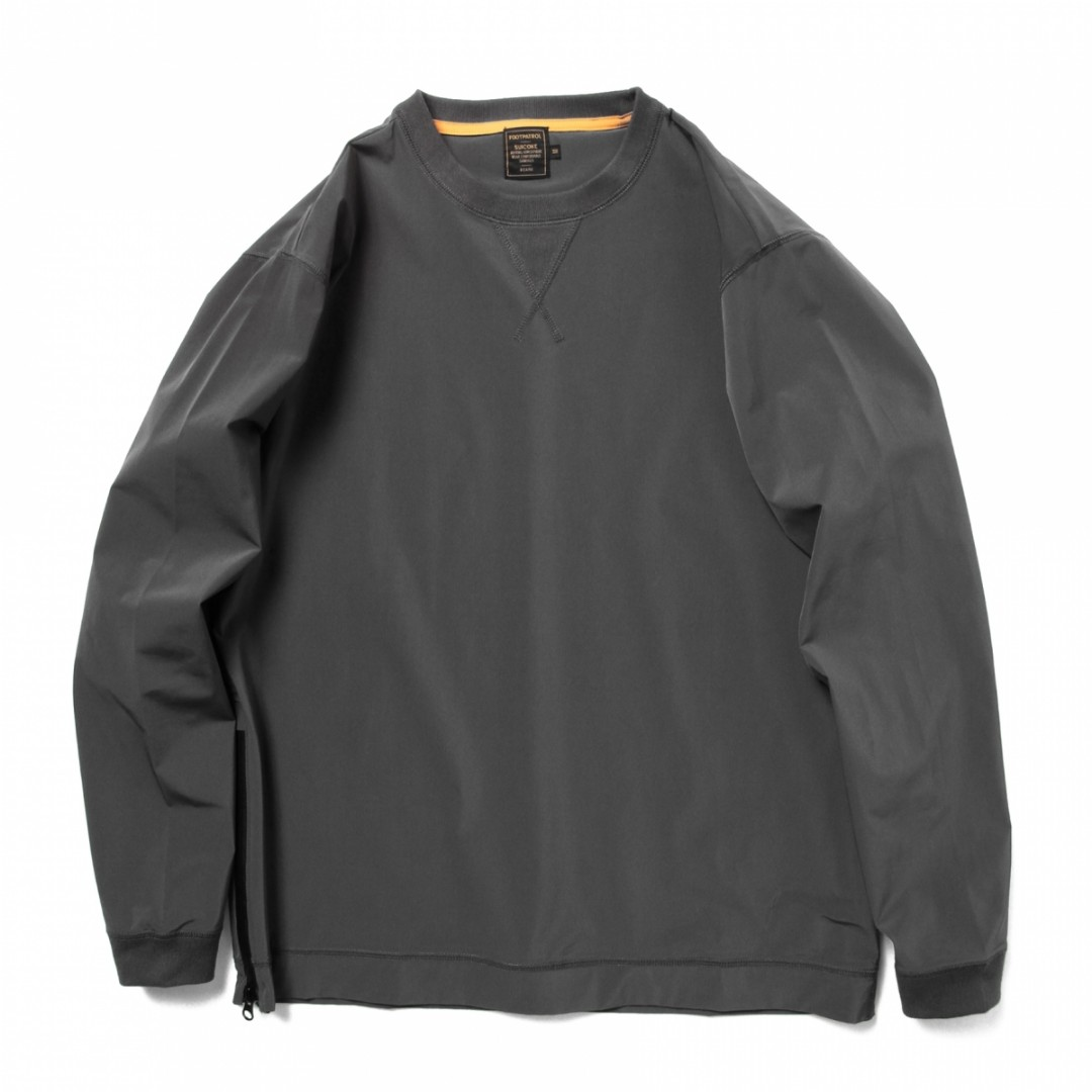 110bfb1afa8 Beams x Suicoke × Footpatrol  Long sleeve Crewneck Sweater with Side ...