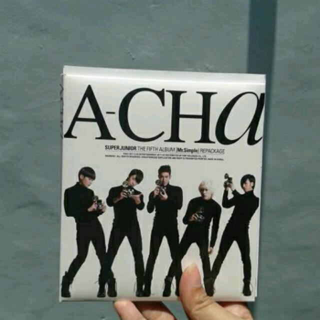 Super Junior - A-Cha (Repackage) Album