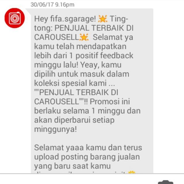 THANKS CAROUSELL. 🙌🙌🙌