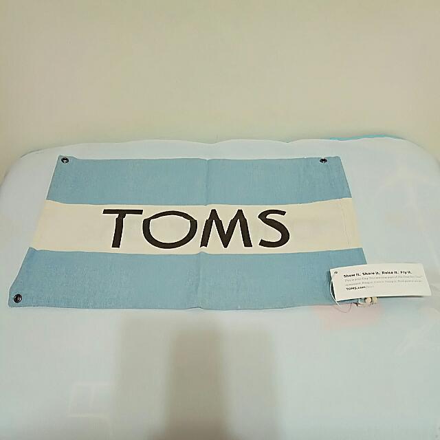 「全新」TOMS湯姆鞋帆布收納袋