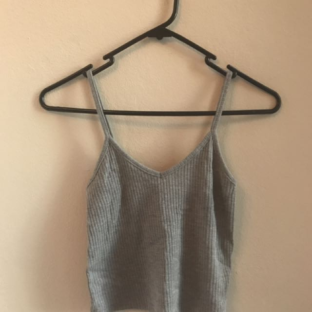 Topshop Grey Crop