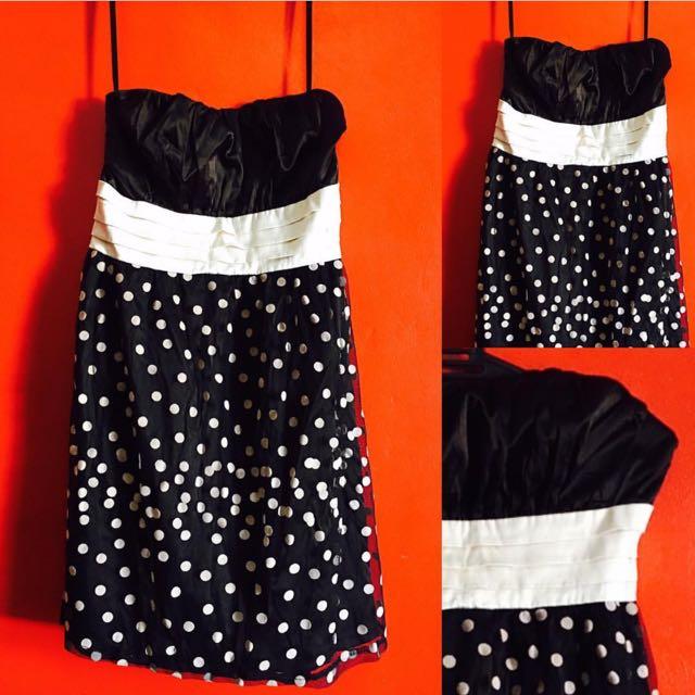 Tube Dress *betty Boop Look