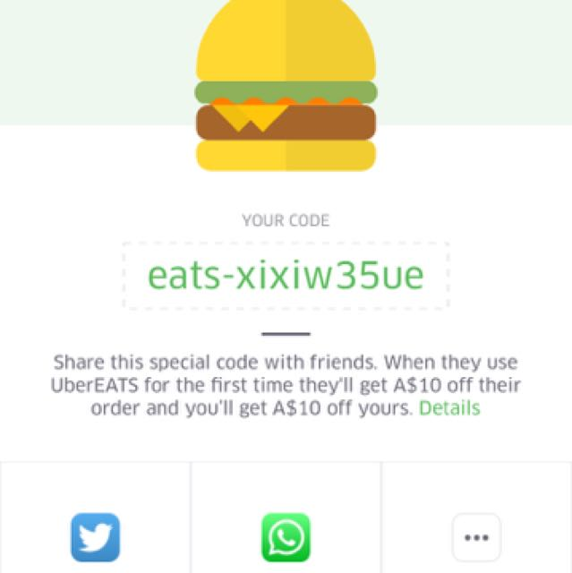 Uber Eats $10 Off