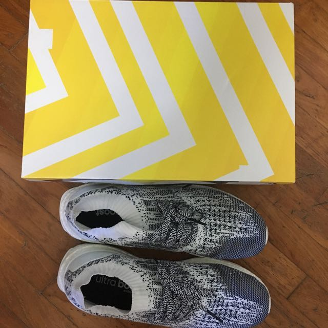 ultra boost uncaged white oreo