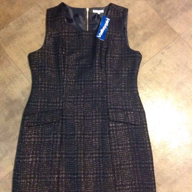 Valley Girl Dark Navy Dress