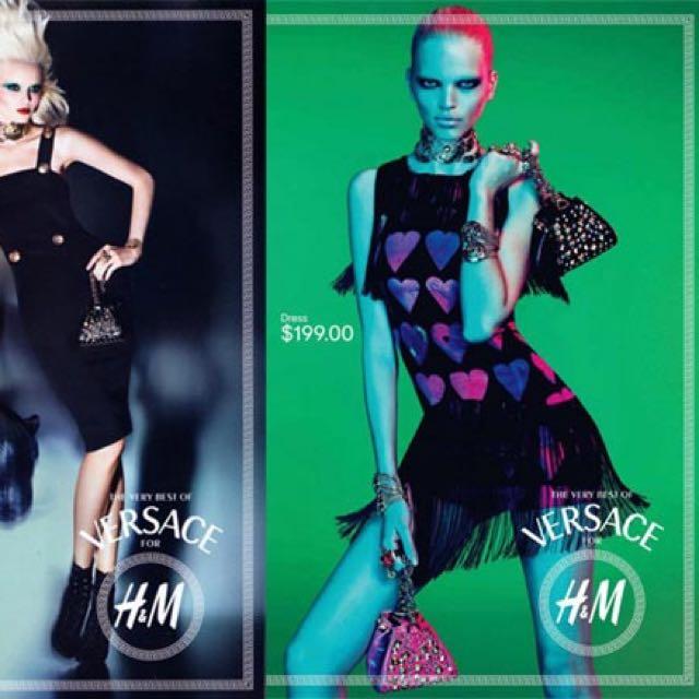 Versace Fringe Dress