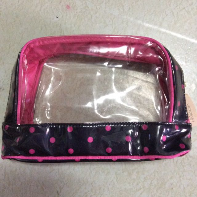 victoria's secret see through pouch