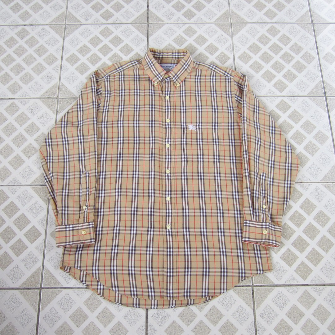 Vintage Burberry Long Sleeves Shirt