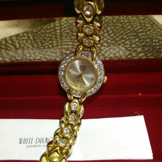 White Diamonds Elizabeth Taylor 奢華鑽錶