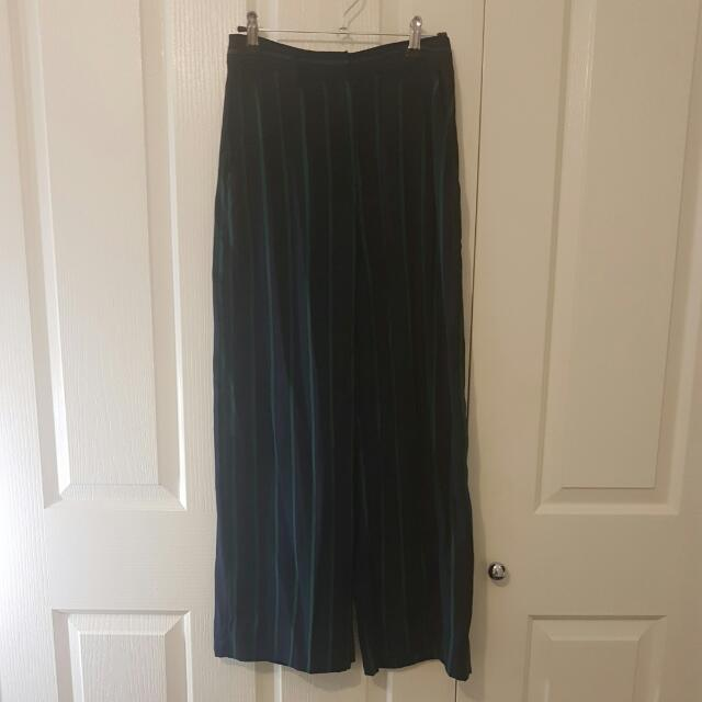 Wide Pants And Cami Set - Sportsgirl Size 6