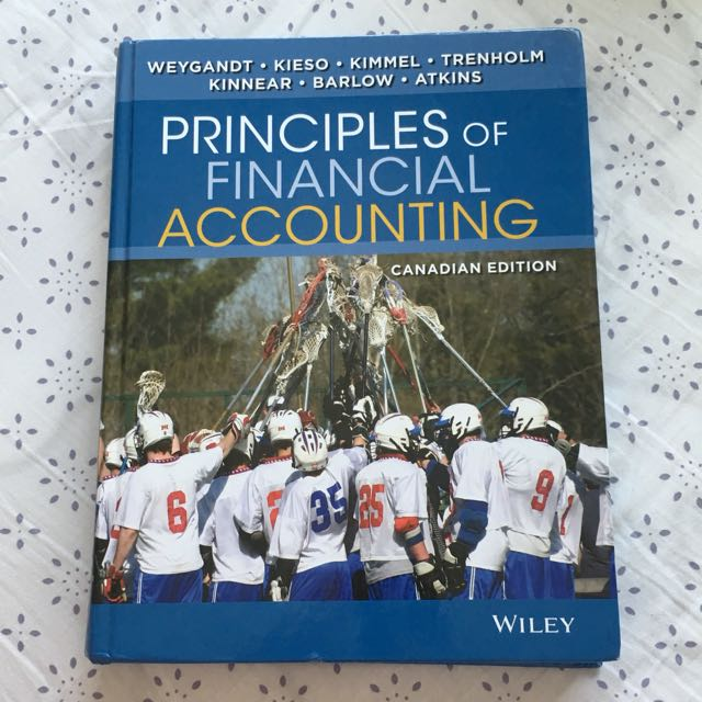 Wiley Principles of Financial Accounting