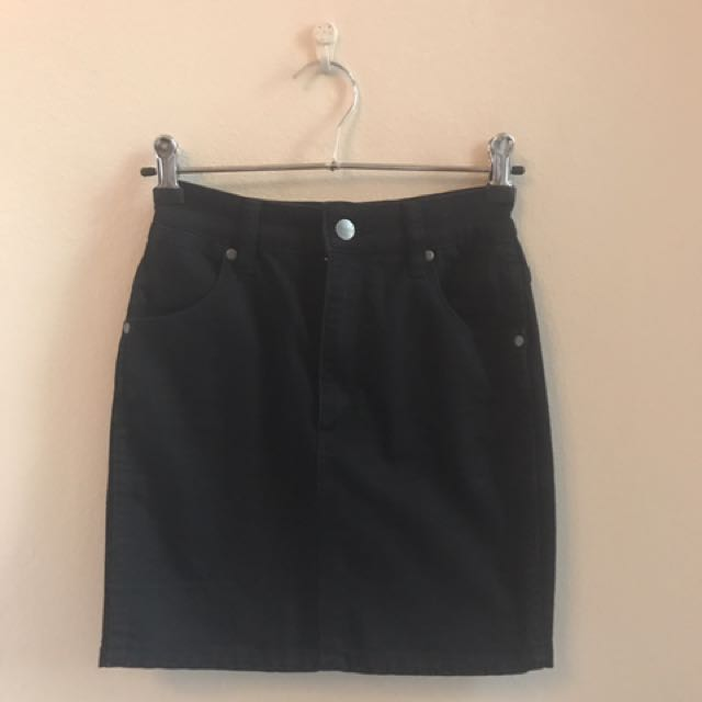 WRANGLER Black Skirt Worn Once