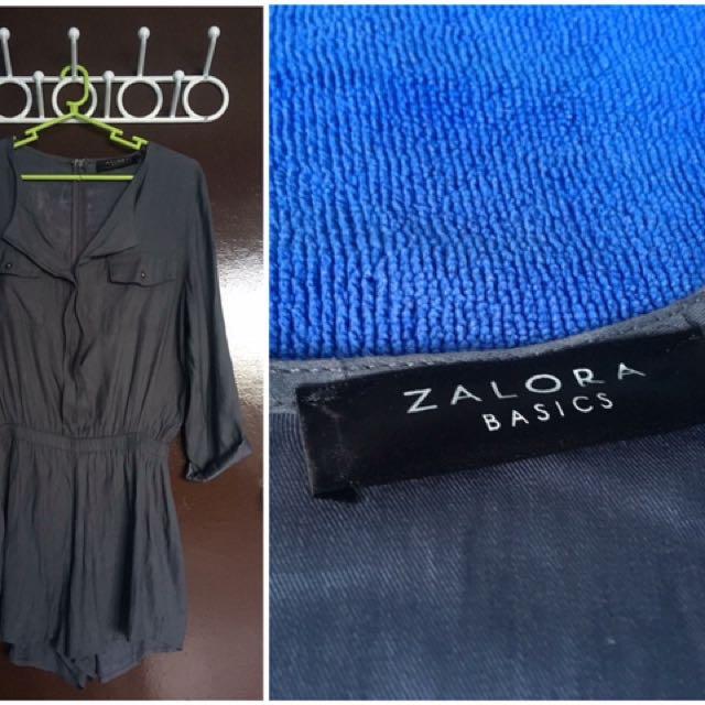 Zalora Basics - Woven Playsuit