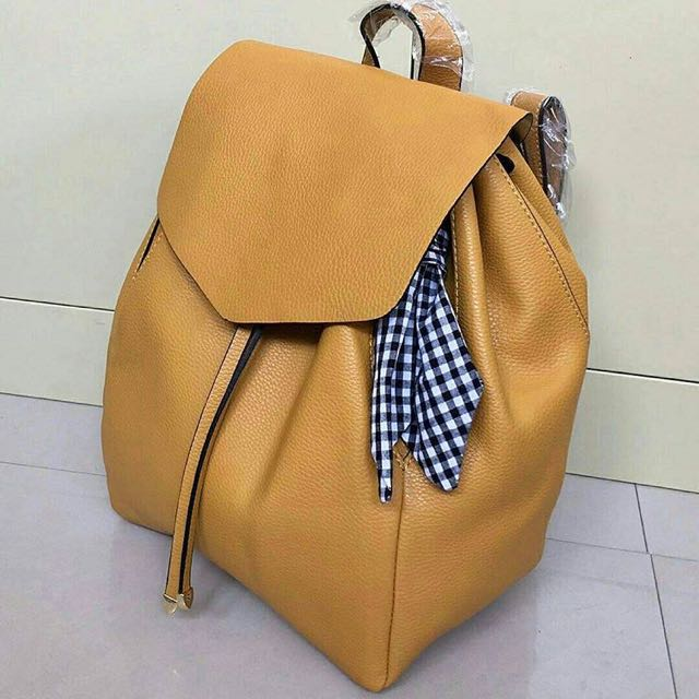 zara backpack scarf original