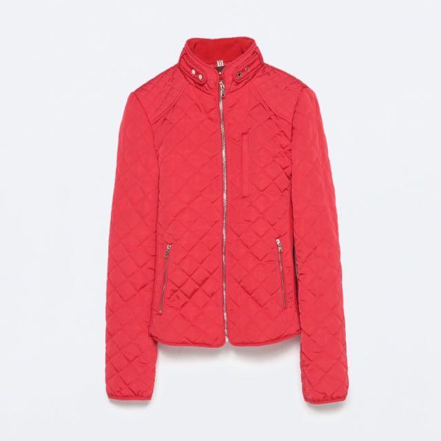 Zara Quilted Jacket - XS