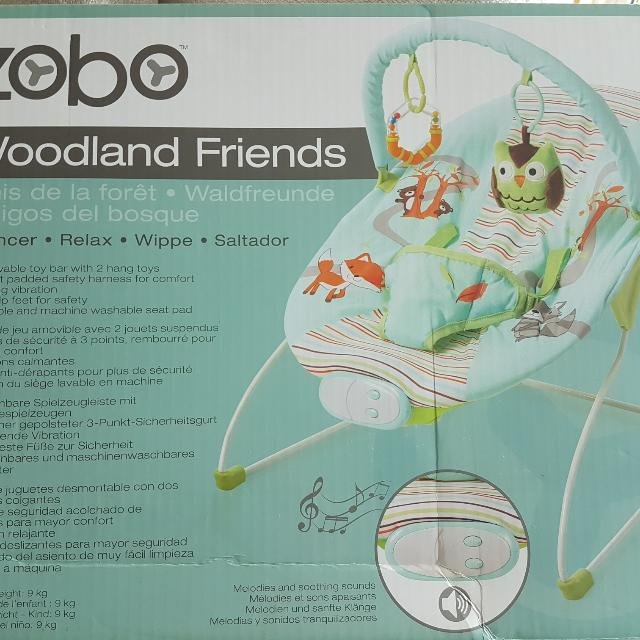 29899b926 Zobo Woodland Friends Bouncer on Carousell