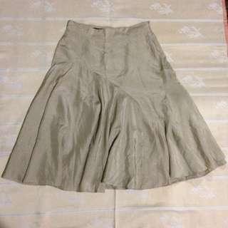 Balenciaga Silk Skirt