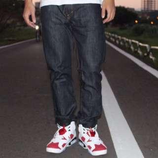 Levi's 501 黑色 原褲 牛仔褲 W30 L34