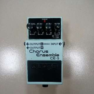 Boss CE-5 Chorus Guitar Pedal 吉他效果器