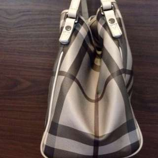 100% Authentic Burberry Haymarket (Grey) Bought From Itialy