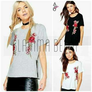 Embroidered Knitted Top ♥