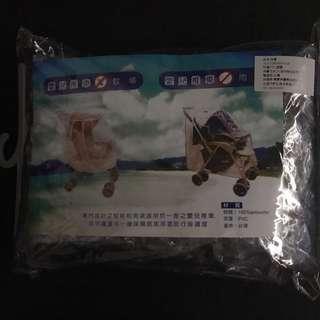 聖嬰嬰兒推車傘車專用雨罩防風防水雨罩