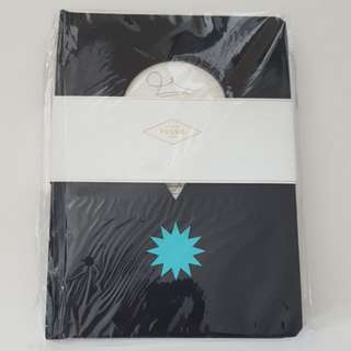 NEW Fossil Hardcover Notebook