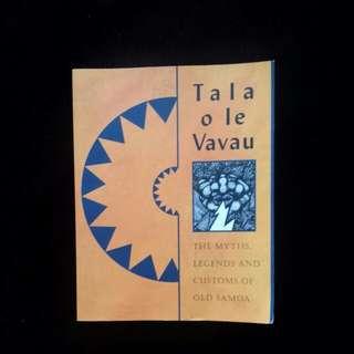 Samoan Book - (Tala o le Vavau)