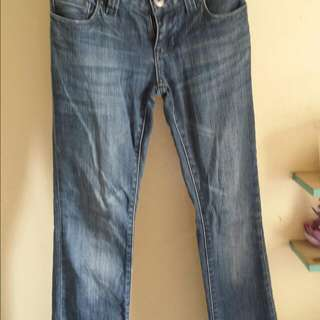 Guess Daredevil Bootcut Jeans Size 24