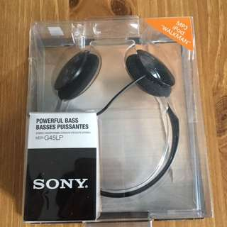 Sony MDR-G45LP Powerful Bass Stereo Headphones
