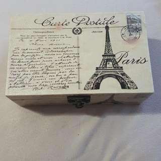 Eiffel Tower Storage Box