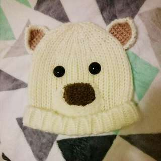 Peter Alexander White Polar Bear Beanie