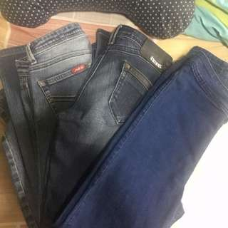 3 Jeans (Jagthug, Tribal And HW)