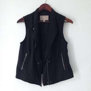 Banana Republic Black Vest