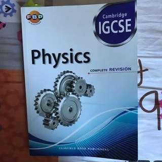 IGCSE Physics Revision Guidebook