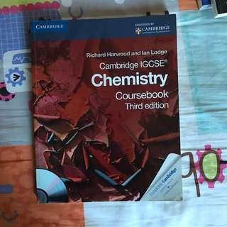 IGCSE Chemistry Course Book