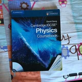 Physics IGCSE Coursebook