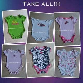 BRANDED Onesies For Baby Girl