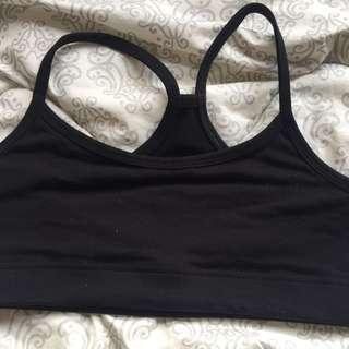 Lulul Sports Bra - Black - Small