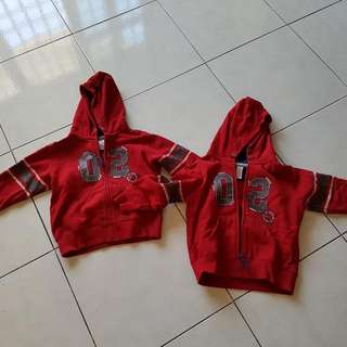 Pair Of Carter's Red Jacket For Juniors