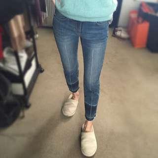 Witchery crop Jeans