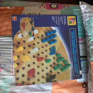 Chinese Checker Board Game.